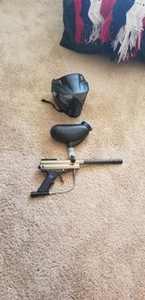 paintball, hopper and helmet in Clarksville, Tennessee