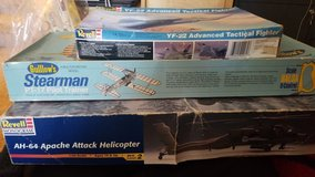 multiple aircraft models in Fort Campbell, Kentucky