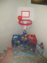 Kids basketball hoop and ball in Fort Leonard Wood, Missouri