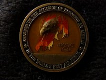 USAF Awarded on the Occasion of Becoming An Airman Challenge Coin #717A in Ramstein, Germany