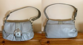 Coach Soho Gray Leather Shoulder Bag in Westmont, Illinois