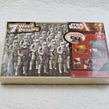 NEW Star Wars Episode VII The Force Awakens 7 Wooden Puzzles  with Storage Box in Joliet, Illinois