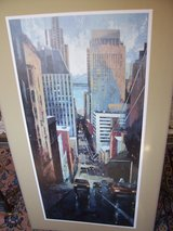 Two Colorful Prints of San Francisco in Ramstein, Germany