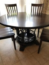 Table & Chairs $200 OBO in Fort Campbell, Kentucky