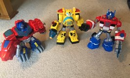 Transformer Toys - Set of 3  (Large) in Chicago, Illinois
