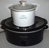 White Rival Slow Cooker -OR- Black Crock Pot ~$10-$15 in Westmont, Illinois