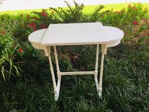White table with side drawers in Kingwood, Texas