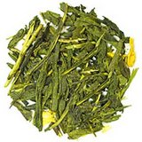 Apricot Green Tea Private Label Custom Apricot Pieces Gold Foil Resealable Pouches for Freshness in Houston, Texas