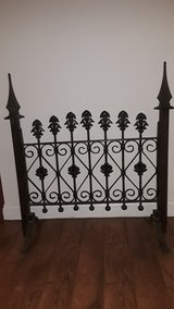 Repurposed Wrought Iron Gate in Chicago, Illinois