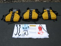3 Adult Universal Life Vests by Stohlquist Waterware Inc and Accessories in Aurora, Illinois