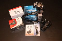 Canon EOS Digital Rebel XT + 2 lenses, Xtra body, Side Grip + more!  * Cleaning out sale. Lots m... in Wiesbaden, GE