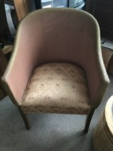 Lloyd Loom chair in Lakenheath, UK
