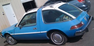 '76 AMC Pacer blue & white, 6 cyl, rebuilt AT, AC, bench seats, runs & drives gr8 in Tacoma, Washington