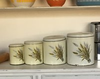 Vintage mid century canister set in Alamogordo, New Mexico