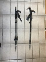 2 walking sticks w/compass & led lights in Ramstein, Germany