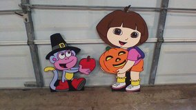 Dora and Boots Fall in Kingwood, Texas