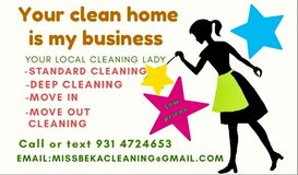 Miss Beka's cleaning in Clarksville, Tennessee