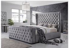 United Furniture - Ritz 2 - QS Bed+2 NS+Foam Memory Pillow Top Mattress+Delivery in Wiesbaden, GE