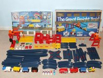 Tomy Tomyville Train Sets Compatible with Lego Tyco Building Blocks in Westmont, Illinois