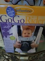 Infantino go go rider carrier new in Bolingbrook, Illinois