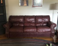 Leather Couch in Fort Leonard Wood, Missouri