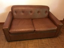 Loveseat Couch with Pull Out Bed in Westmont, Illinois