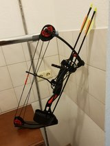 Compound bow in Ramstein, Germany