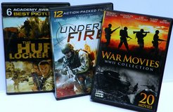 33  War Movies Collection ~ DVDs in Alamogordo, New Mexico
