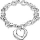 CLEARANCE ***BRAND NEW***Double Heart Charm Bracelet *** in The Woodlands, Texas