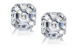CLEARANCE ***BRAND NEW*** 3CTTW ASSCHER CUT CZ EARRINGS**** in Kingwood, Texas