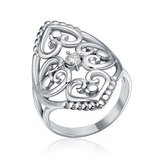 CLEARANCE ***BRAND NEW***Silver Cz Filigree Hearts Stainless Steel Ring***SZ 7 in The Woodlands, Texas