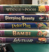 Disney Masterpiece VHS tapes - 5 total in Naperville, Illinois