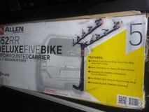5 bike hitch mounted rack for 2in hitch in Chicago, Illinois