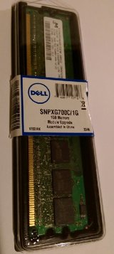 Dell 1GB Memory Module Upgrade in Kingwood, Texas