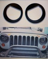 Jeep Jl Brand New Angry Headlight Covers in Naperville, Illinois