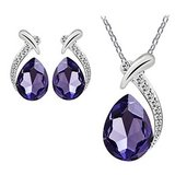 CLEARANCE***BRAND NEW***BEAUTIFUL Purple Pendant & Earring Set*** in The Woodlands, Texas