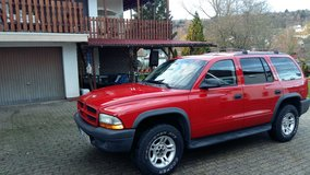 Dodge Durango SXT 4X4 Utility Trailer 5'x10' included in Ramstein, Germany