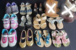 Toddler girls sz 8 dress Shoes sandals Boots Sneakers in Fort Campbell, Kentucky