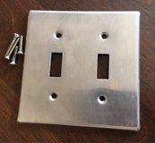 Double Toggle Switch Plate in Yorkville, Illinois