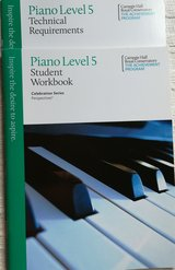 Piano books workbook and technical requirements in Westmont, Illinois