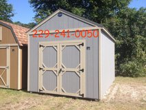 10x14 Utility Storage Building Shed in Moody AFB, Georgia