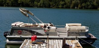 21' Sun Tracker Party Barge Pontoon Boat, 2001 signature series in Fort Knox, Kentucky