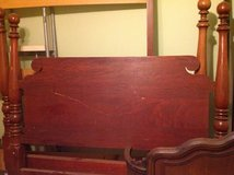 Solid Cherry Wood Full Bed in Westmont, Illinois