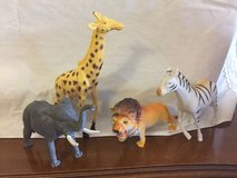 Plastic Safari Animal Toys in Westmont, Illinois