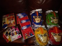 Power Rangers party lot in The Woodlands, Texas