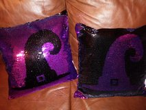 Witch hat throw pillows in The Woodlands, Texas