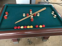 Bumper Pool / Billard antik in Ramstein, Germany