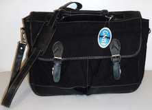 New! Black Messenger Bag / Briefcase w/Shoulder Strap in Chicago, Illinois