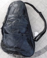 New! Black Leather Backpack / Sling Bag in Westmont, Illinois
