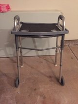 Walker with removable tray in Westmont, Illinois